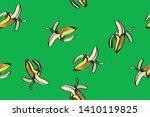 banana illustration  total... | Shutterstock .eps vector #1410119825