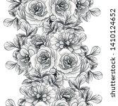 flower print. elegance seamless ... | Shutterstock .eps vector #1410124652