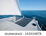 Sailing Yacht Catamaran Sailing ...