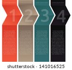 template for your business... | Shutterstock .eps vector #141016525