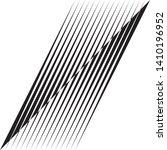 abstract diagonal halftone... | Shutterstock .eps vector #1410196952