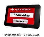 search for knowledge | Shutterstock . vector #141023635