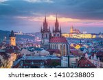 View Over Prague Old Town At...