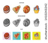 vector design of confectionery... | Shutterstock .eps vector #1410243242