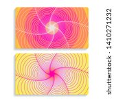 two cards background with...   Shutterstock .eps vector #1410271232