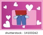 well   today is valentine's day ... | Shutterstock . vector #14103262
