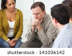 meeting of support group | Shutterstock . vector #141036142