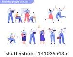 people vector set.  business... | Shutterstock .eps vector #1410395435