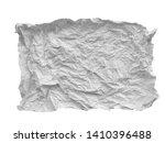 crumpled paper texture. white...   Shutterstock . vector #1410396488