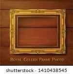 decorative vintage frame and...   Shutterstock .eps vector #1410438545