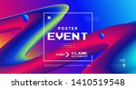 modern design event poster with ... | Shutterstock .eps vector #1410519548