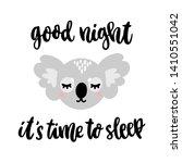 hand drawn lettering phrase ... | Shutterstock .eps vector #1410551042