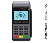 pos terminal or payment... | Shutterstock .eps vector #1410573722