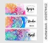 Mandala Cards Design.ethnic...