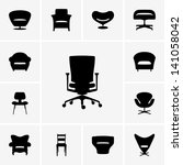 armchair,business,chair,comfort,design,furniture,graphic,home,icon,interior,living,modern,office,pictogram,relax