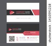 creative business card template ... | Shutterstock .eps vector #1410591218