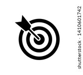 target icon. target vector icon ... | Shutterstock .eps vector #1410601742