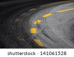 Abstract Turning Road...