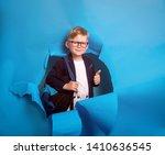 back to school. industrious... | Shutterstock . vector #1410636545