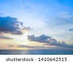 sea sunset  ocean sunrise ... | Shutterstock . vector #1410642515