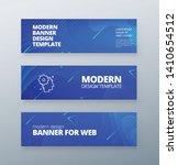 horizontal sale banner... | Shutterstock .eps vector #1410654512