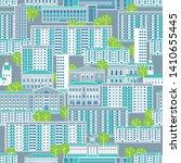 city seamless pattern. panel... | Shutterstock .eps vector #1410655445