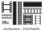 set of film vector stripes... | Shutterstock .eps vector #1410766202