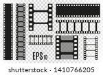 set of film vector stripes... | Shutterstock .eps vector #1410766205