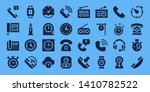 dial icon set. 32 filled dial... | Shutterstock .eps vector #1410782522