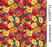 Floral Pattern Seamless Retro....