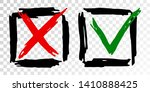 tick cross vector check marks...