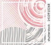 abstract silk hijab creative...   Shutterstock .eps vector #1410910268