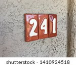 apartment number 241 two forty...   Shutterstock . vector #1410924518
