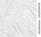 topographic map lines... | Shutterstock .eps vector #1410934478