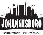johannesburg south africa. city ... | Shutterstock .eps vector #1410955022