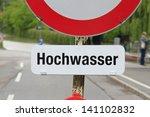 flood on river danube | Shutterstock . vector #141102832