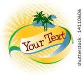 Tropical Vacation Logo