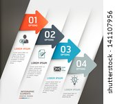 abstract arrow infographics... | Shutterstock .eps vector #141107956