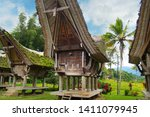 Traditional Tongkonan Houses...