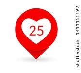 like heart icon. social media...