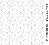 vector background. seamless... | Shutterstock .eps vector #1411187465