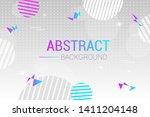 abstract light vector...   Shutterstock .eps vector #1411204148