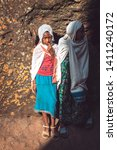 lalibela  ethiopia   november...   Shutterstock . vector #1411240172