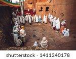 lalibela  ethiopia   november...   Shutterstock . vector #1411240178