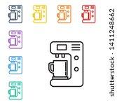 line illustration of eight... | Shutterstock .eps vector #1411248662