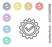 line illustration of eight...   Shutterstock .eps vector #1411260008