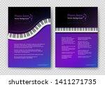 vector vertical design... | Shutterstock .eps vector #1411271735