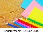 school supplies | Shutterstock . vector #141128485