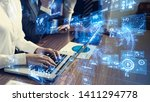 gui  graphical user interface ... | Shutterstock . vector #1411294778