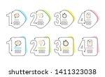 cogwheel  romantic talk and... | Shutterstock .eps vector #1411323038